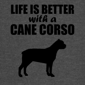 Life Is Better With A Cane Corso - Vintage Sport T-Shirt