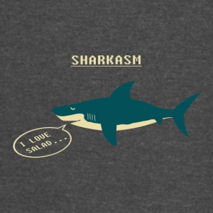 Sharkasm Sea Animal I Love Salad - Vintage Sport T-Shirt