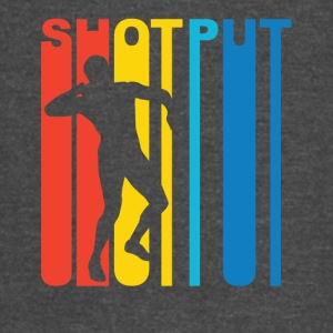 Vintage Shot Put Graphic - Vintage Sport T-Shirt