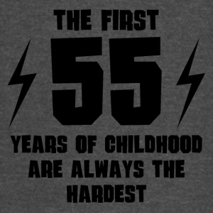 The First 55 Years Of Childhood - Vintage Sport T-Shirt