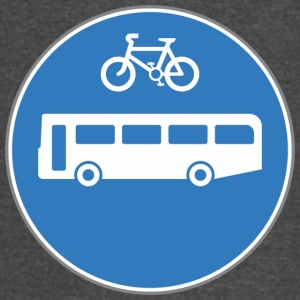 Road_sign_bus_and_bicycle - Vintage Sport T-Shirt