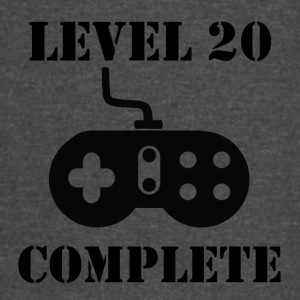 Level 20 Complete 20th Birthday - Vintage Sport T-Shirt