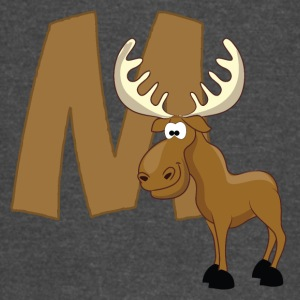 M Is For Moose - Vintage Sport T-Shirt