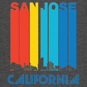 Retro San Jose California Skyline - Vintage Sport T-Shirt