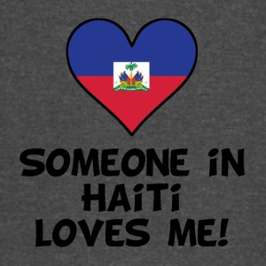 Someone In Haiti Loves Me - Vintage Sport T-Shirt