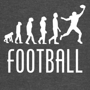 Football Evolution Wide Receiver - Vintage Sport T-Shirt