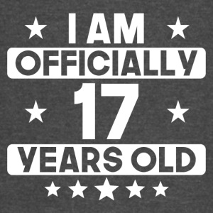 I Am Officially 17 Years Old 17th Birthday - Vintage Sport T-Shirt