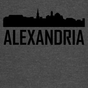 Alexandria Virginia City Skyline - Vintage Sport T-Shirt