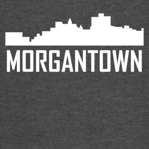 Morgantown West Virginia City Skyline - Vintage Sport T-Shirt