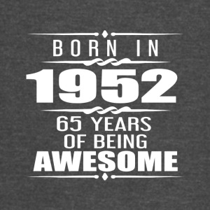 Born in 1952 65 Years of Being Awesome - Vintage Sport T-Shirt