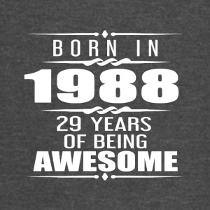 Born in 1988 29 Years of Being Awesome - Vintage Sport T-Shirt