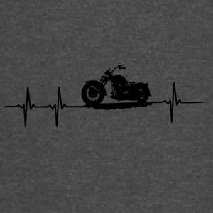 make a heartbeat design for Motorbike - Vintage Sport T-Shirt