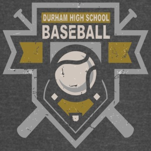 DURHAM HIGH SCHOOL BASEBALL - Vintage Sport T-Shirt