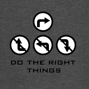 Do the right things - Vintage Sport T-Shirt