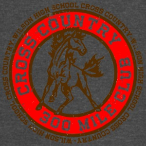 Cross Country 300 Mile Club Wilson High School Cro - Vintage Sport T-Shirt