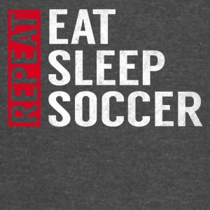 Eat Sleep Soccer Repeat Funny Sports Quote Gag - Vintage Sport T-Shirt