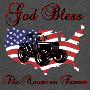God Bless the American Farmer - Vintage Sport T-Shirt