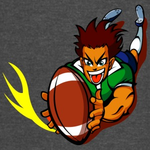 anime rugby player - Vintage Sport T-Shirt