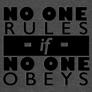 No One Rules - Vintage Sport T-Shirt