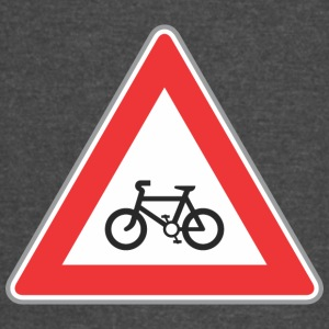 Road_sign_bicycle_red - Vintage Sport T-Shirt