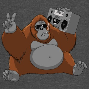 orangutan tape monkey music animal wildlife - Vintage Sport T-Shirt
