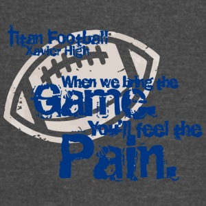 Titan Football Xavier High - Vintage Sport T-Shirt