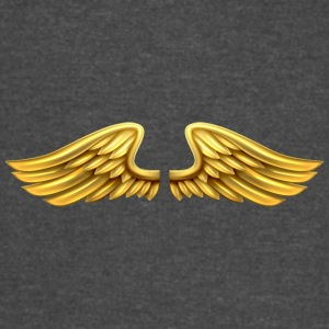 golden-angel-wings-angelic-wings - Vintage Sport T-Shirt