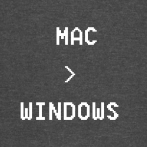 Mac is greater than Windows - Vintage Sport T-Shirt