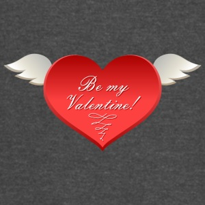 Be-my-Valentine-heartн - Vintage Sport T-Shirt