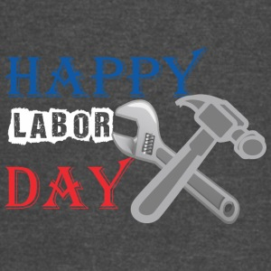 Happy Labor Day - Vintage Sport T-Shirt