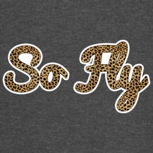 So Fly Cheetah - Vintage Sport T-Shirt