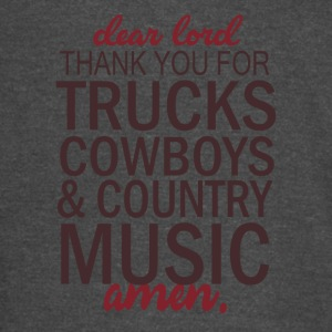 THANK YOU FOR TRUCKS COWBOYS - Vintage Sport T-Shirt