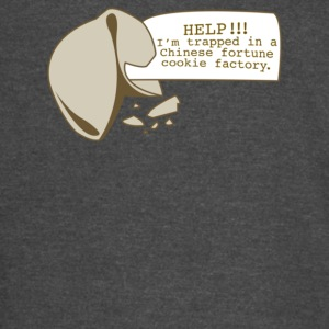 Help I m Trapped In A Chinese Fortune Cookie Facto - Vintage Sport T-Shirt