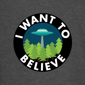 I Want To Believe - Vintage Sport T-Shirt