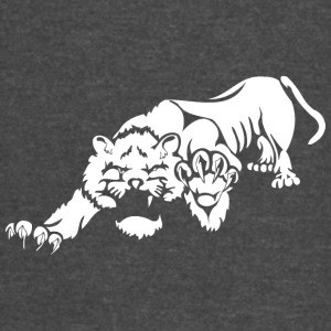 wild_laying_lion - Vintage Sport T-Shirt
