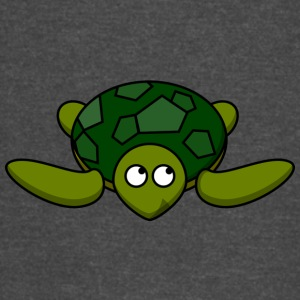 Funny Turtle Comic - Vintage Sport T-Shirt