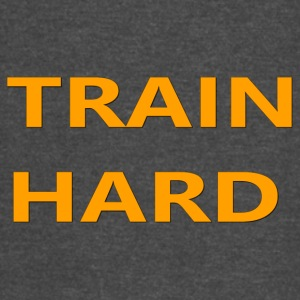 TRAIN HARD ORANGE - Vintage Sport T-Shirt
