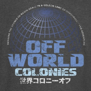 Off World Colonies - Vintage Sport T-Shirt