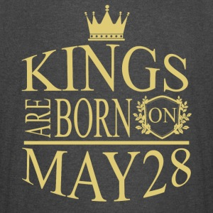 Kings are born on May 28 - Vintage Sport T-Shirt
