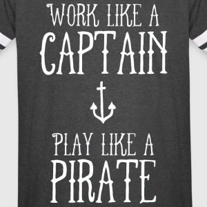 Work Like a Captain - Vintage Sport T-Shirt