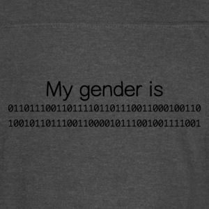 My Gender Is (nonbinary) In Binary - Vintage Sport T-Shirt