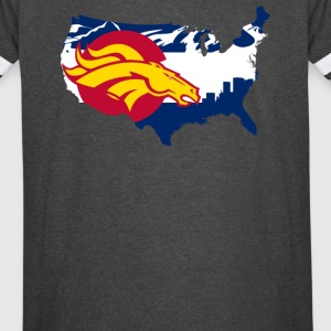 Colorado State Flag - Vintage Sport T-Shirt