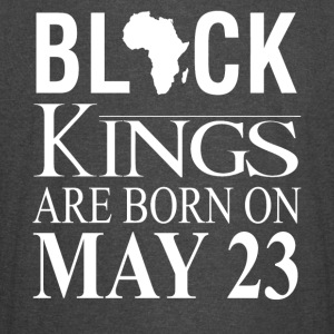Black kings born on May 23 - Vintage Sport T-Shirt