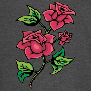 red_roses_with_thorns - Vintage Sport T-Shirt