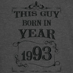 this guy born in year 1993 black - Vintage Sport T-Shirt