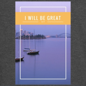 I Will Be Great - Vintage Sport T-Shirt