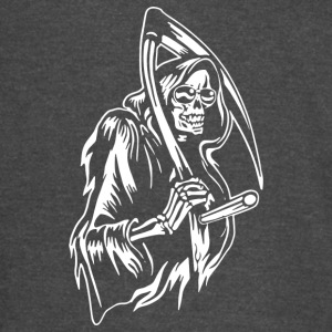 Grin Of The Reaper - Vintage Sport T-Shirt