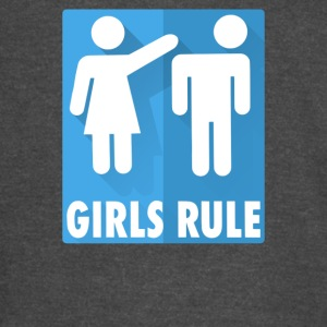 Girls Rule - Vintage Sport T-Shirt