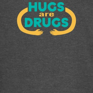 Hugs Are Drugs Funny Men's T-shirt - Vintage Sport T-Shirt