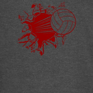 Volleyball Explosion - Vintage Sport T-Shirt